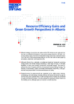 Resource efficiency gains and green growth perspectives in Albania