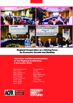 Regional cooperation as a driving force for economic growth and stability