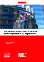 The Albanian public's trust in security